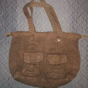 Brown canvas Thirty-One Bag